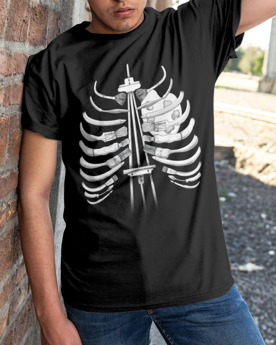 Art I can feel it in my bones shirt