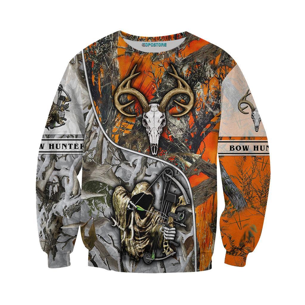 Bow Hunter 3d sweatshirt