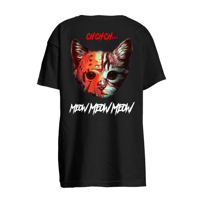 Cat Ch Ch Meow Meow kids t-shirt