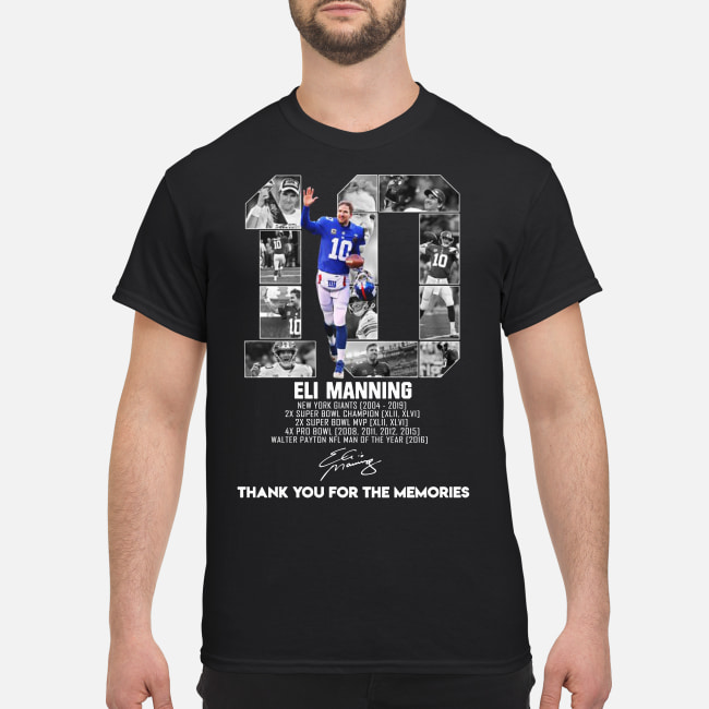 Eli Manning New York Giants 2004 2019 shirt
