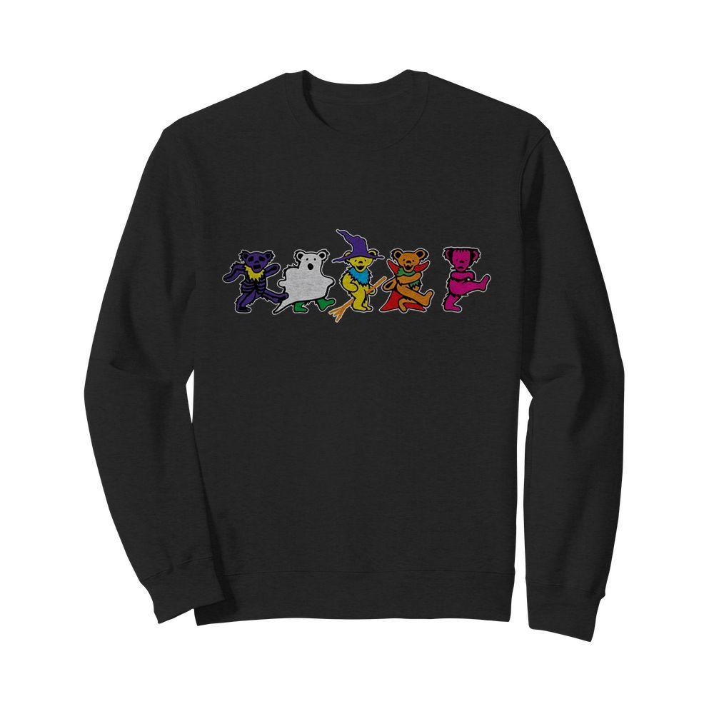 Grateful Dead Dancing Bears halloween sweatshirt