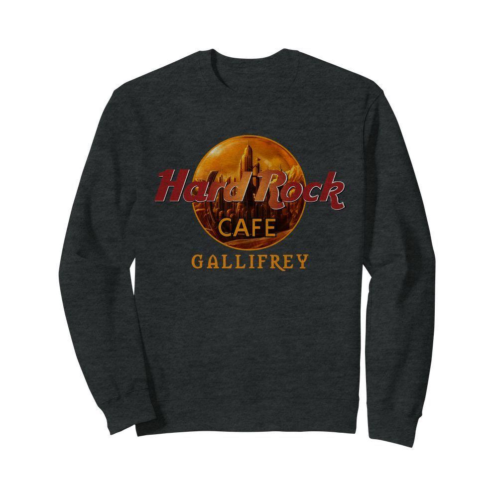 Hard Rock cafe Gallifrey sweatshirt