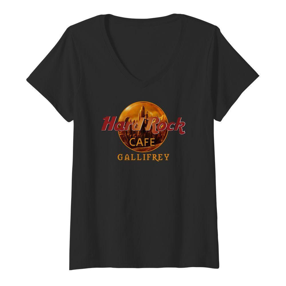 Hard Rock cafe Gallifrey v-neck