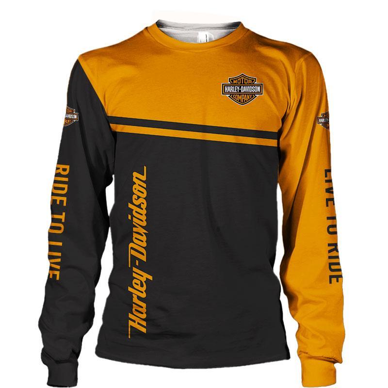 Harley-Davidson Snoopy Screw it Let's Ride hoodie 3d - long sleeved shirt 3d
