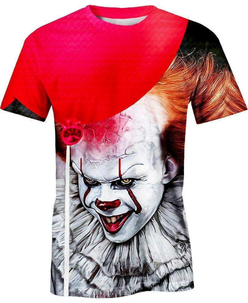 Pennywise IT Hoodie 3D - T-shirt 3D