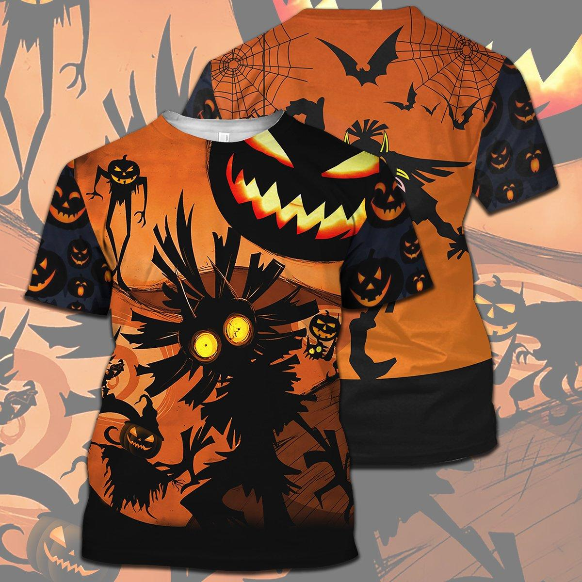 Skull Kid Halloween Full Print 3d hoodie - t-shirt 3d