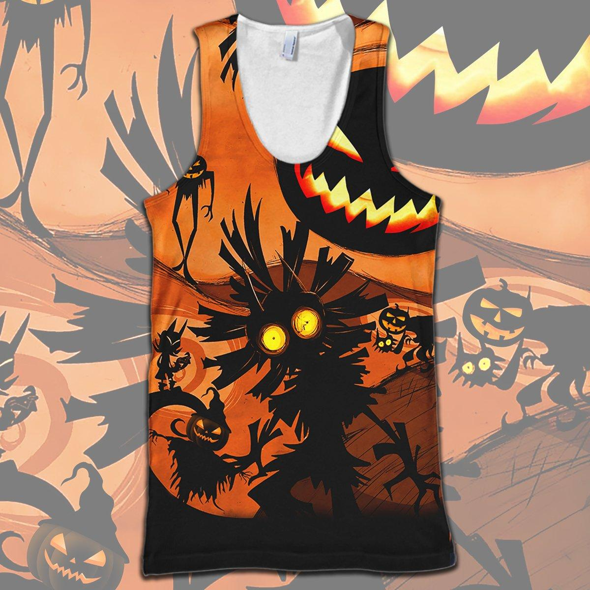 Skull Kid Halloween Full Print 3d hoodie - tank top 3d