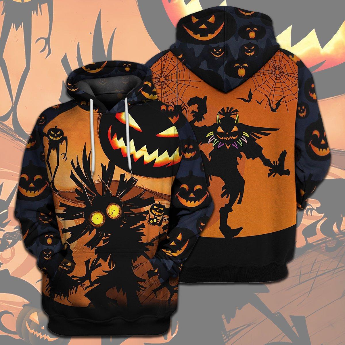 Skull Kid Halloween Full Print 3d hoodie