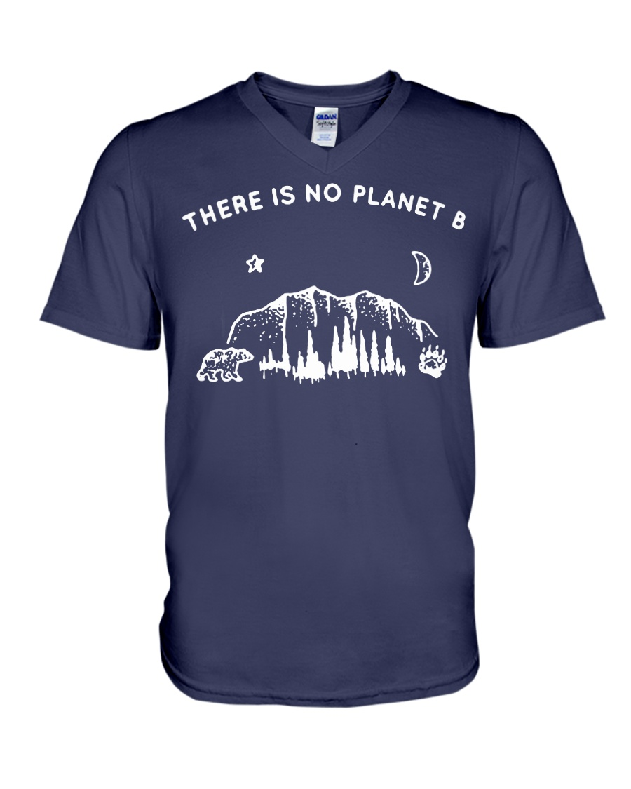 There is no planet B v-neck