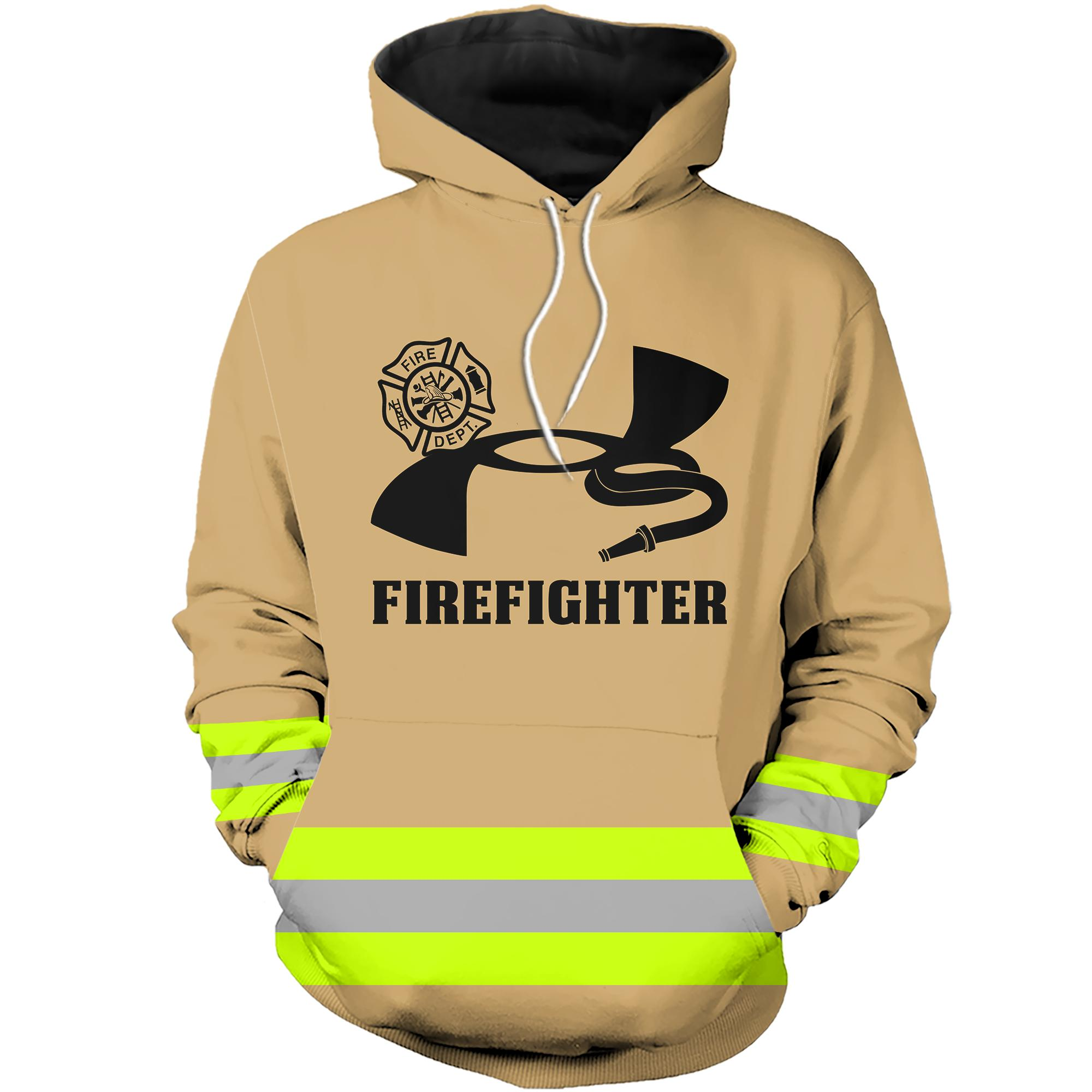 Under Armour Firefighter 3D hoodie - Brown