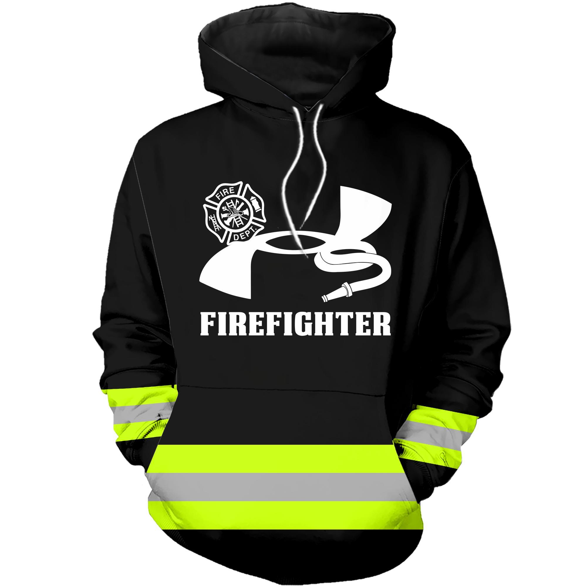 Under Armour Firefighter 3D hoodie - black