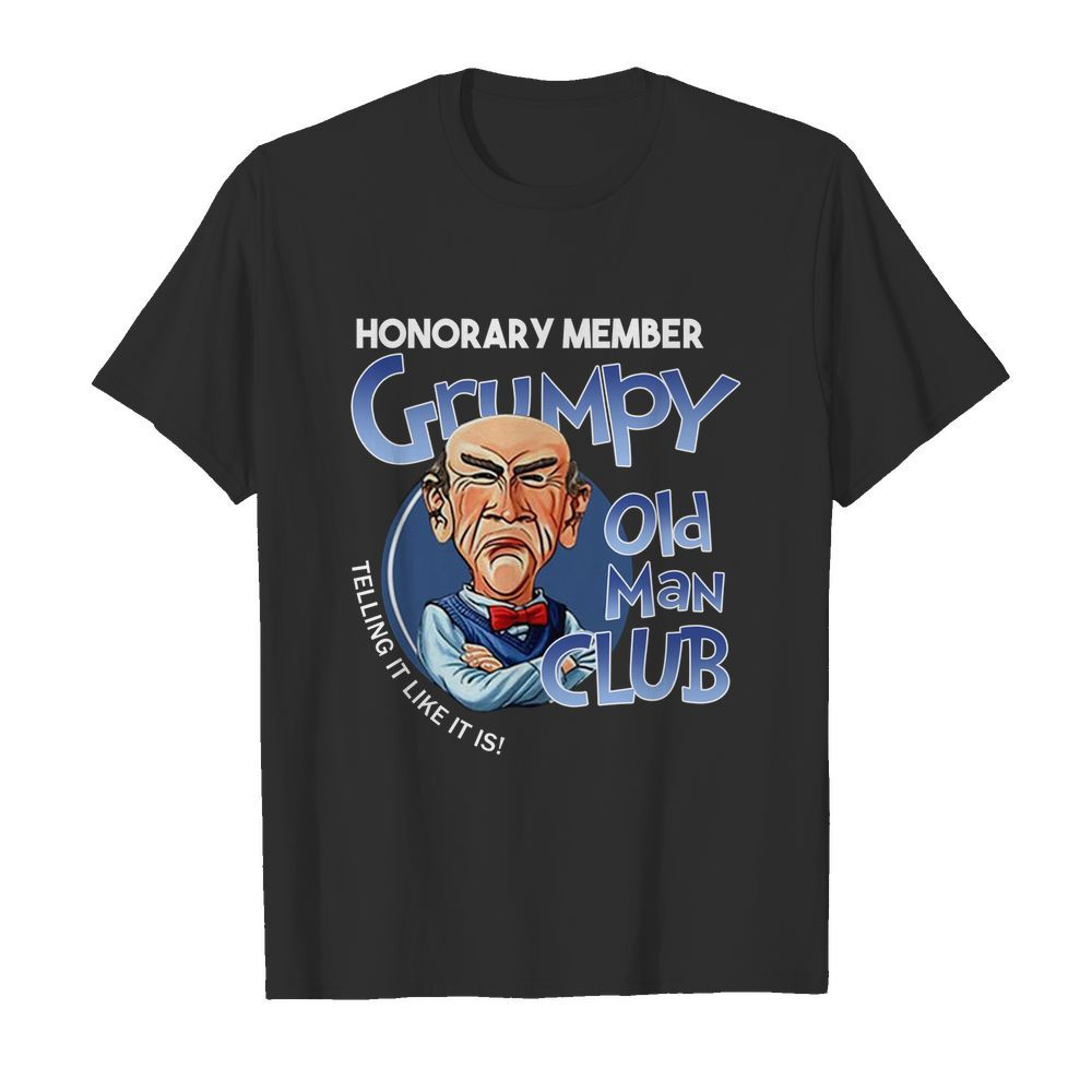Walter honorary member grumpy old man club shirt