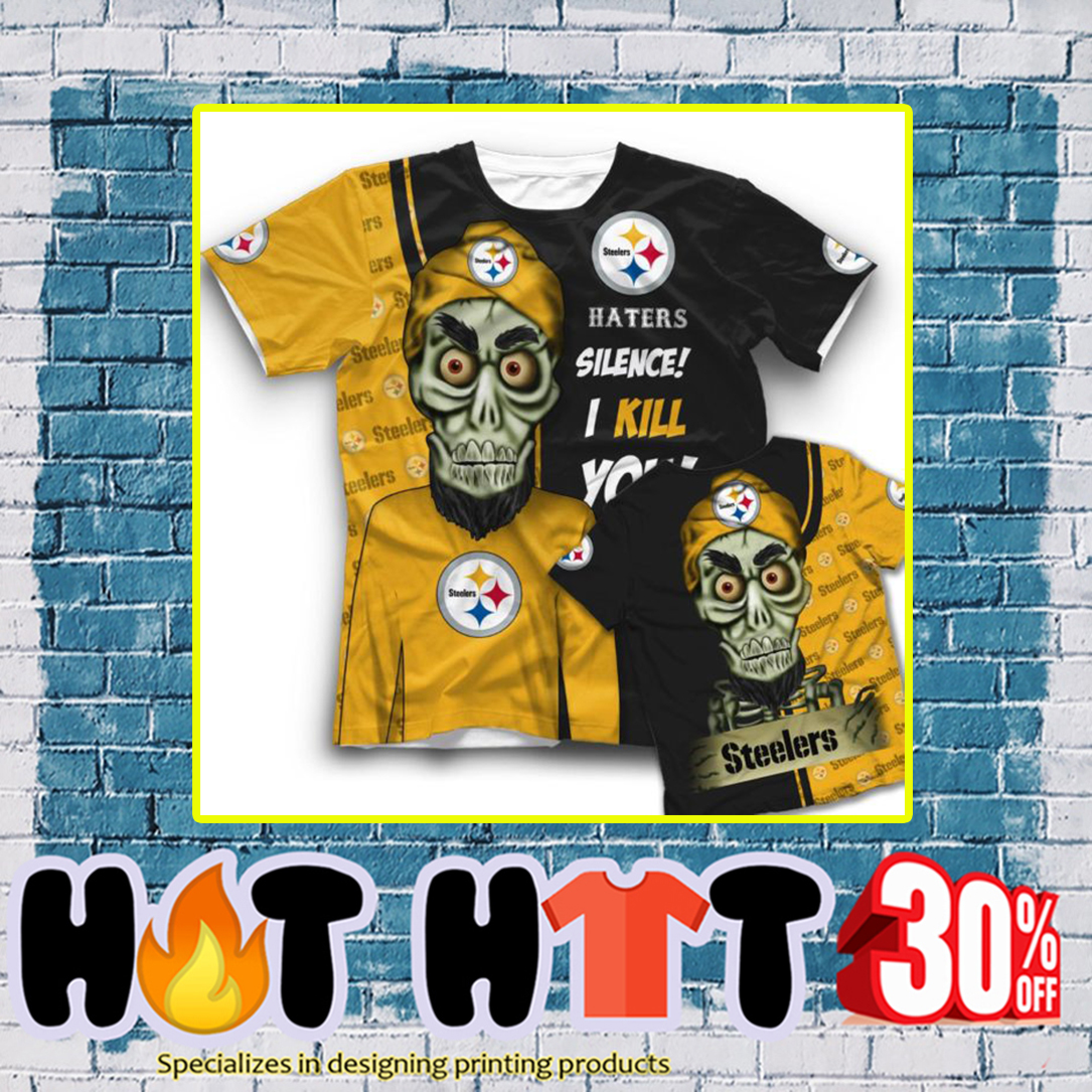 Achmed Pittsburgh Steelers Haters Silence I Kill You 3d t-shirt
