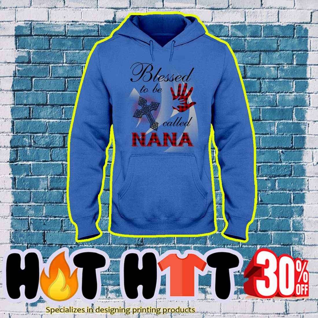 Blessed to be called Nana hoodie