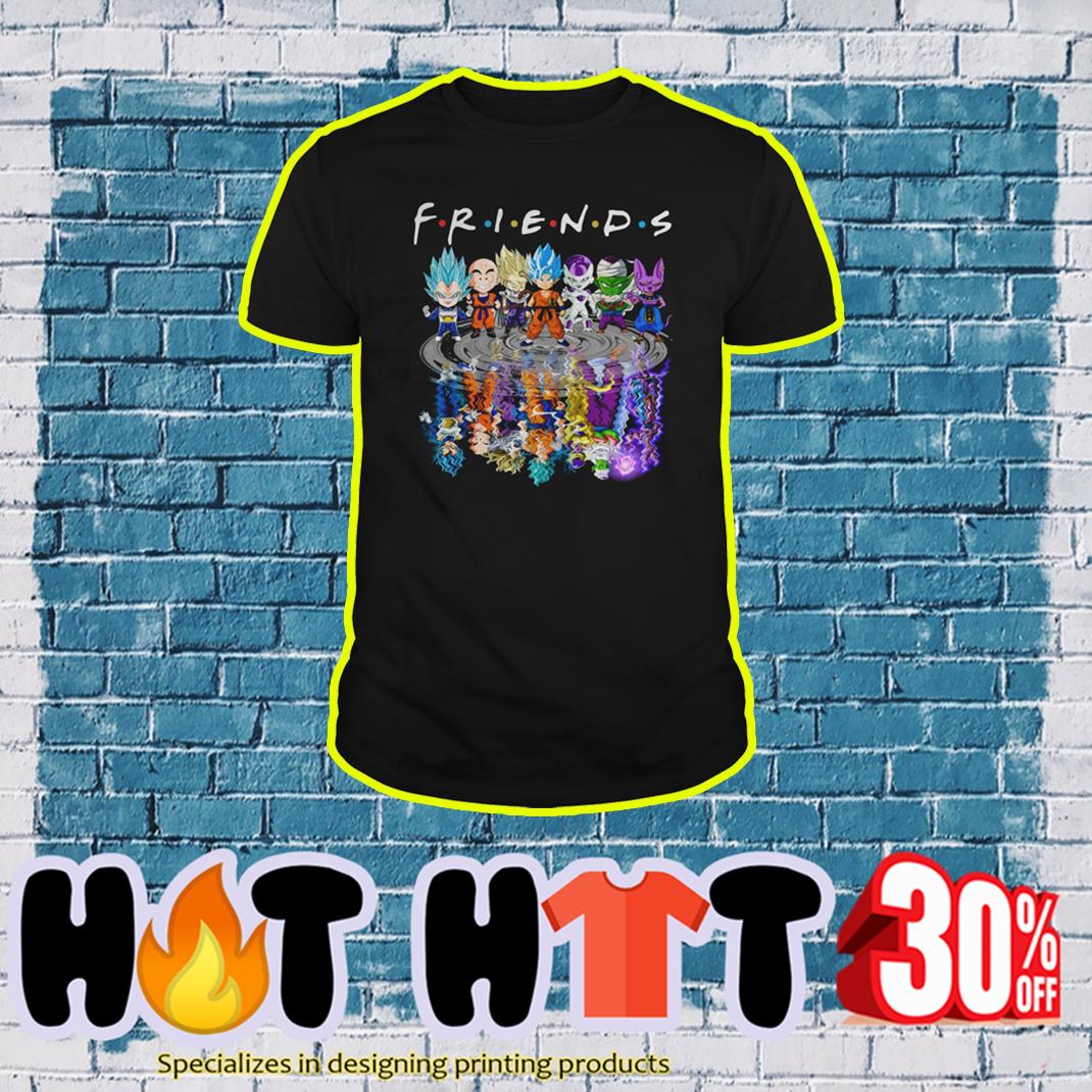 Dragon Ball Z Characters Friends TV Show shirt