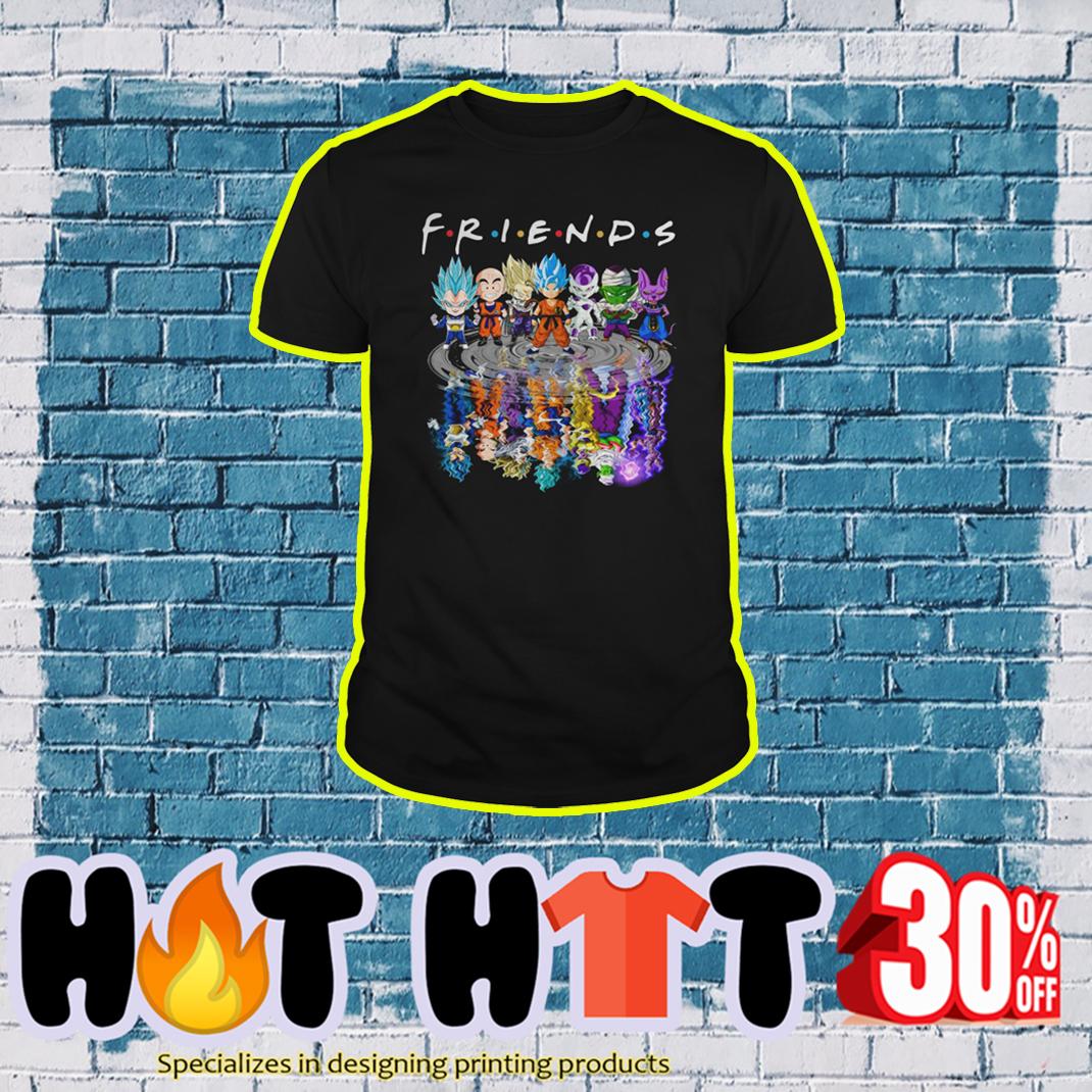 Goku Vegeta Krillin Fire Pocolo Frieza Beerus Friends shirt