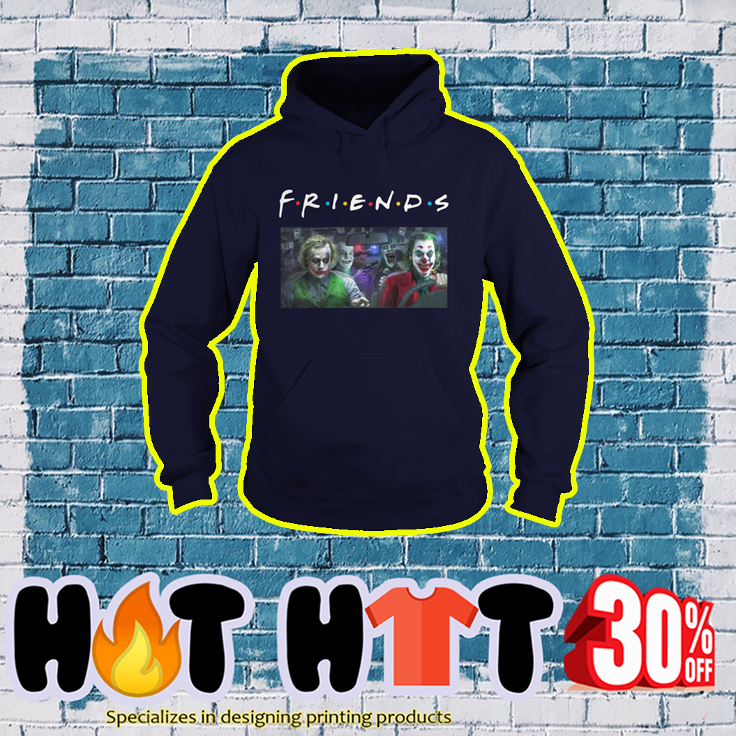 Joker Friends TV Show hoodie