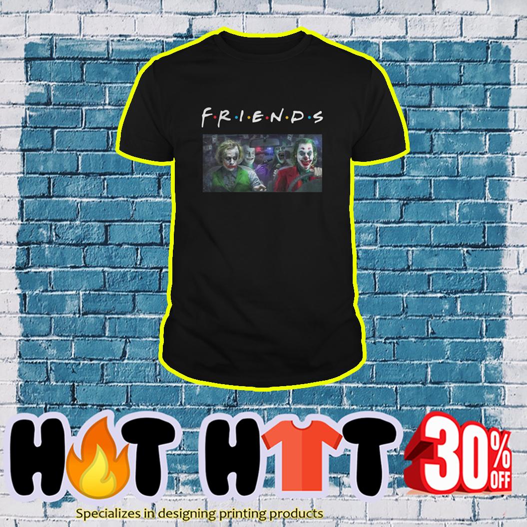 Joker Friends TV Show shirt