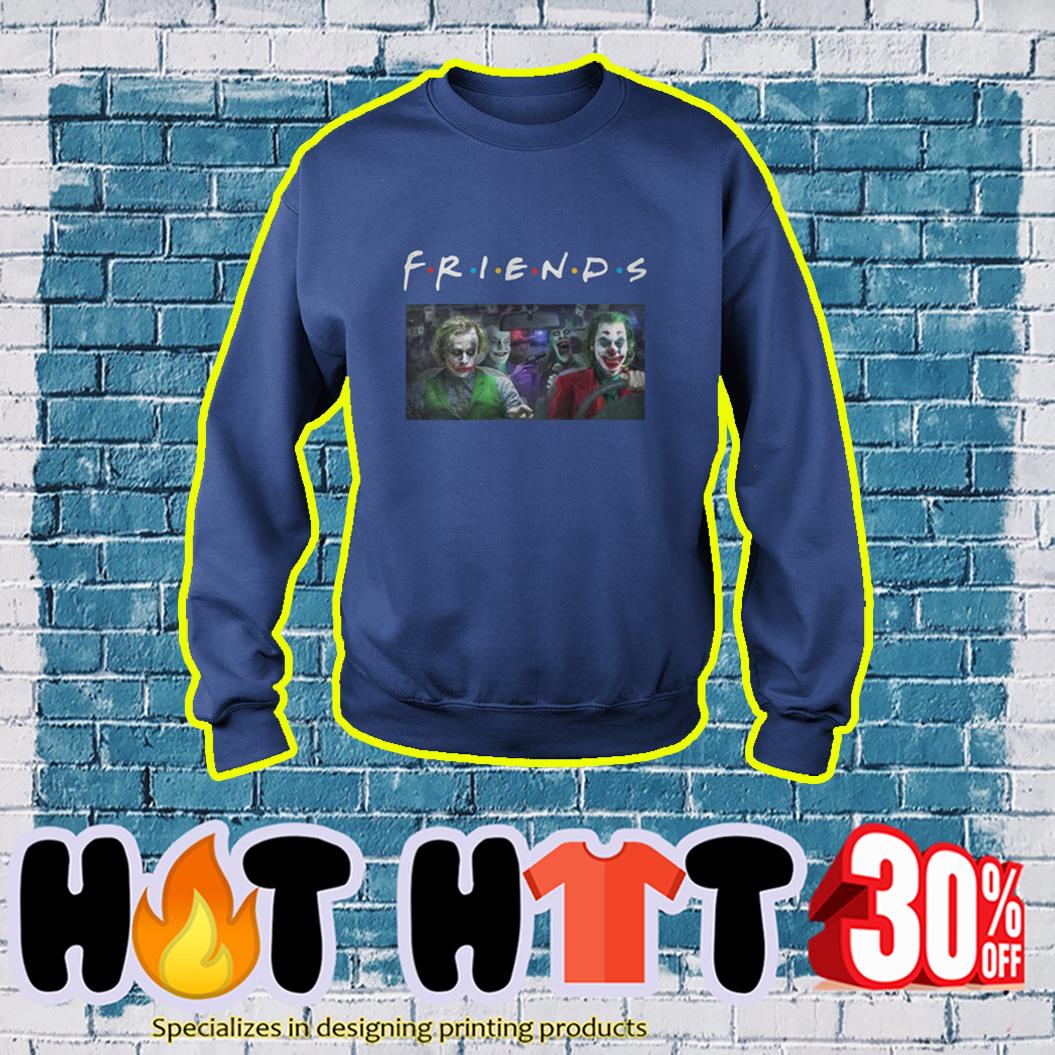 Joker Friends TV Show sweatshirt