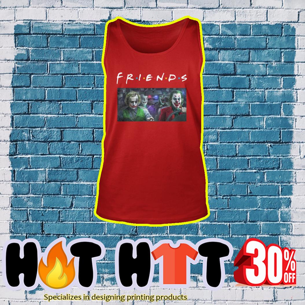 Joker Friends TV Show tank top