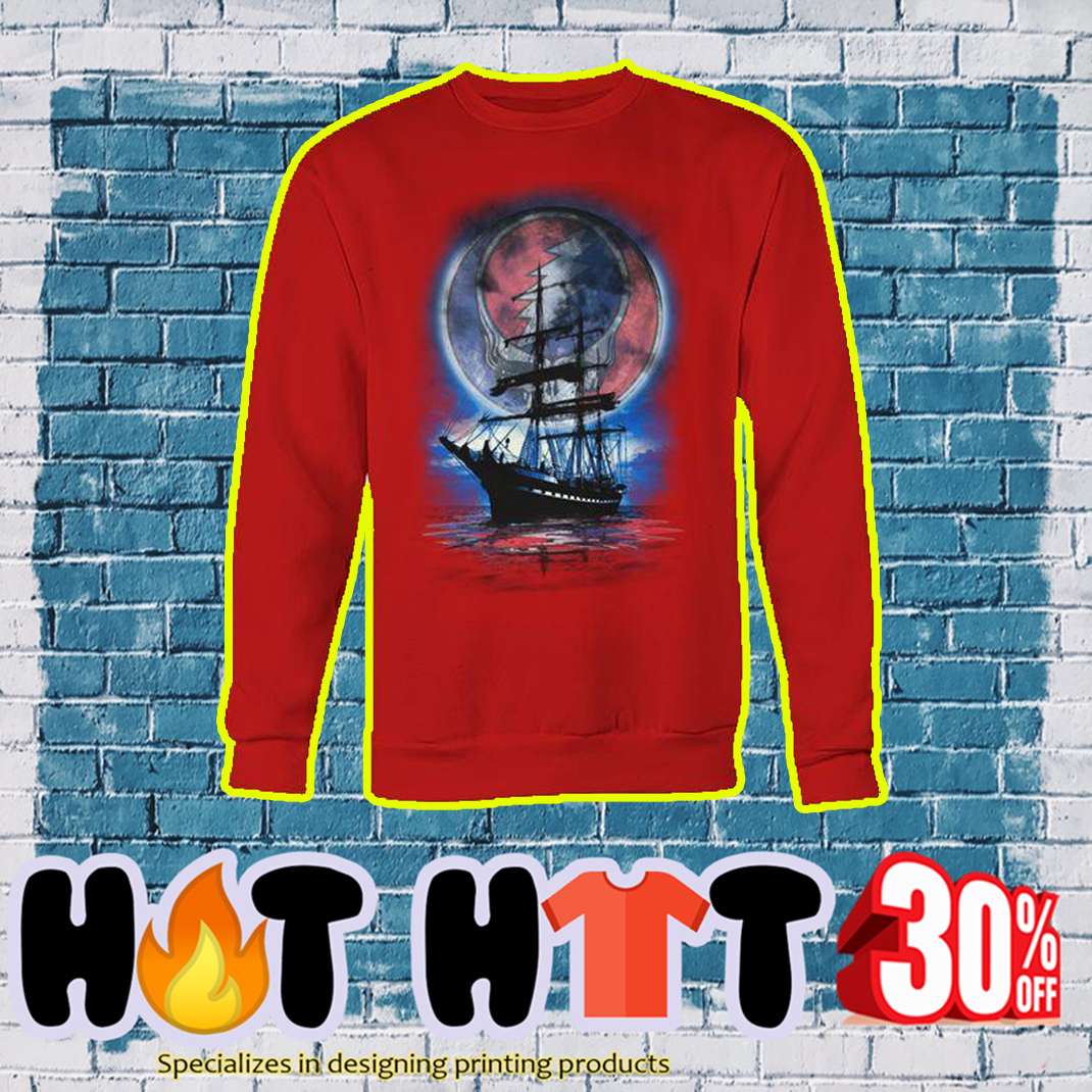 Lity Sunshine Boat Reflection sweatshirt