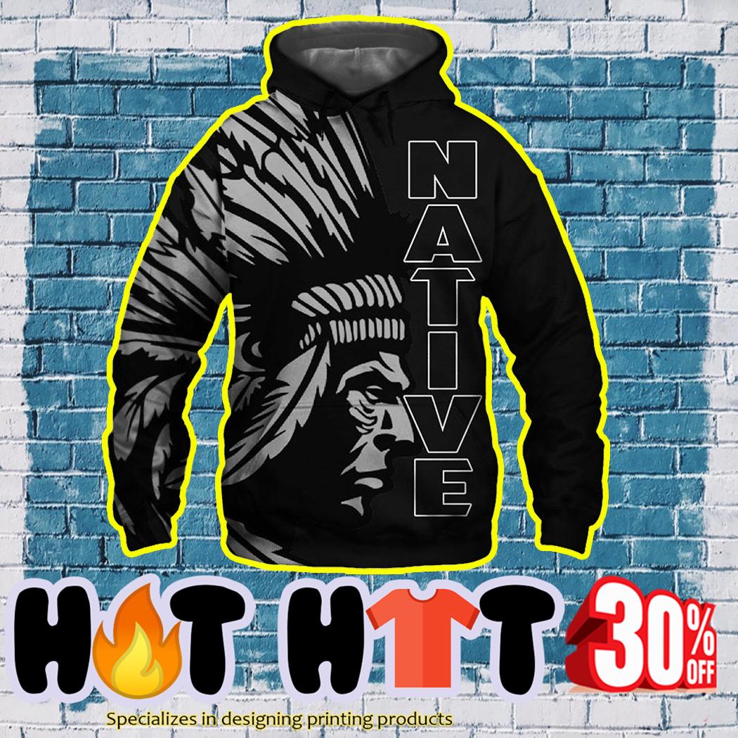 Native Americans 3D Hoodie