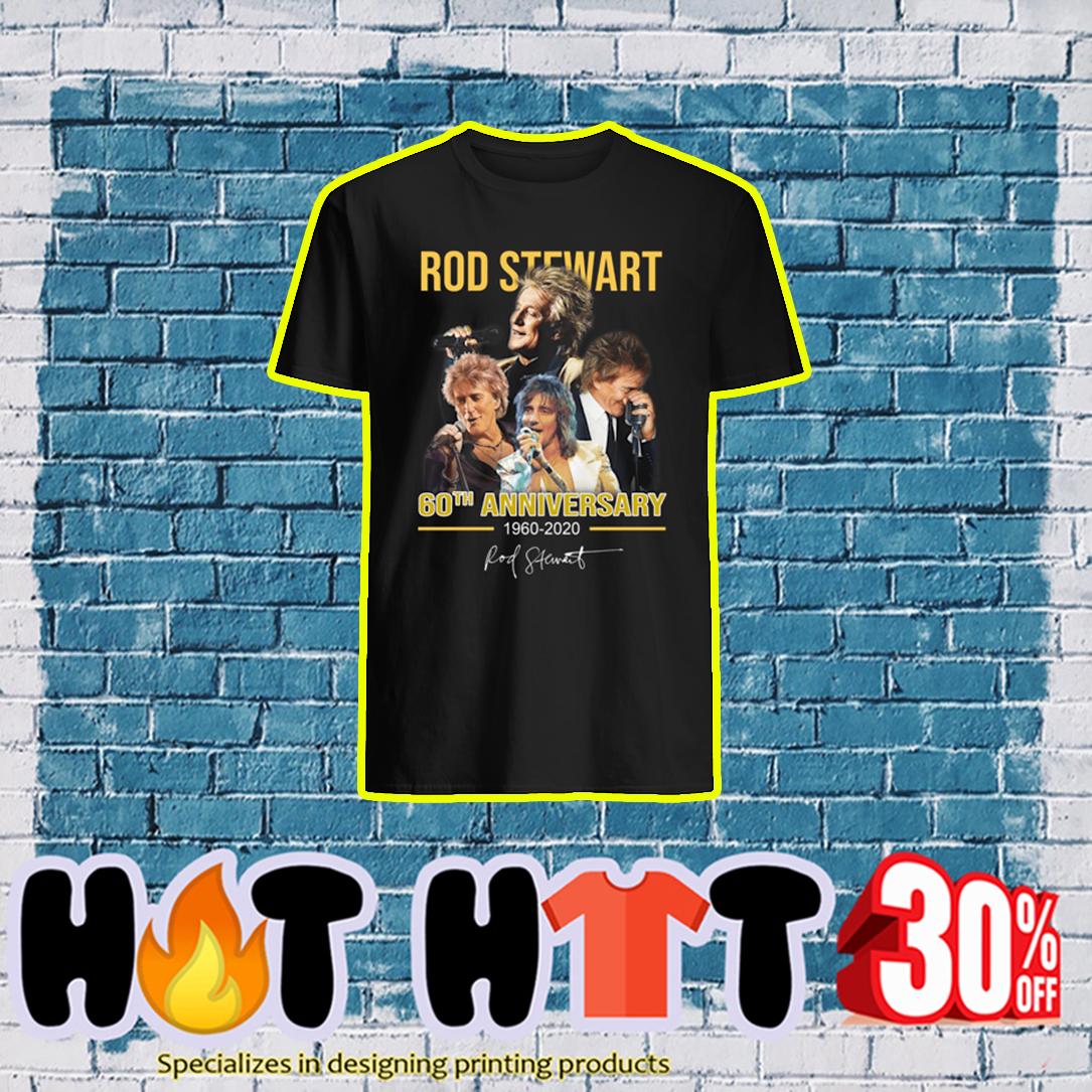 Rod Stewart 60th Anniversary 1960 2020 shirt