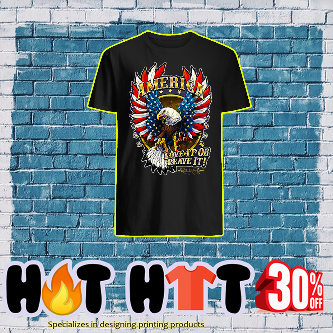 America Love It Or Leave It The Rush Limbaugh Show shirt