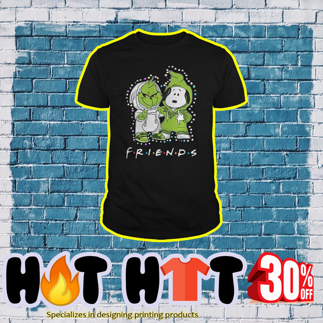 Baby Snoopy and Grinch Friends TV Show shirt