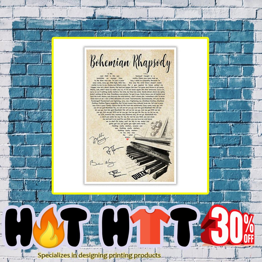 Bohemian Rhapsody Signature Poster