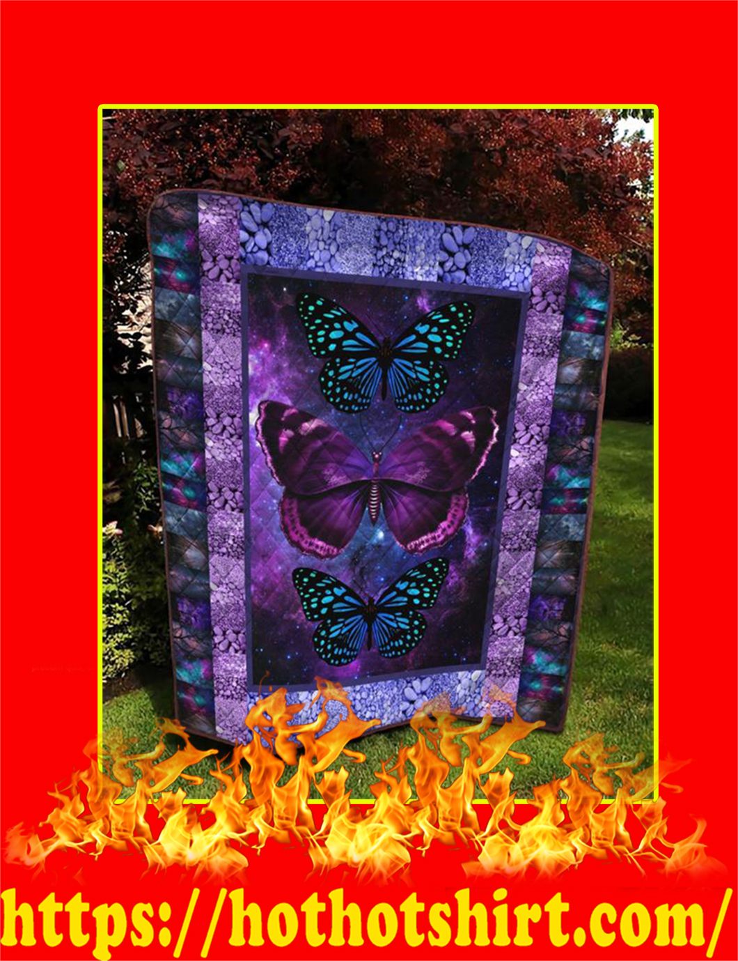 Butterfly Quilt - King