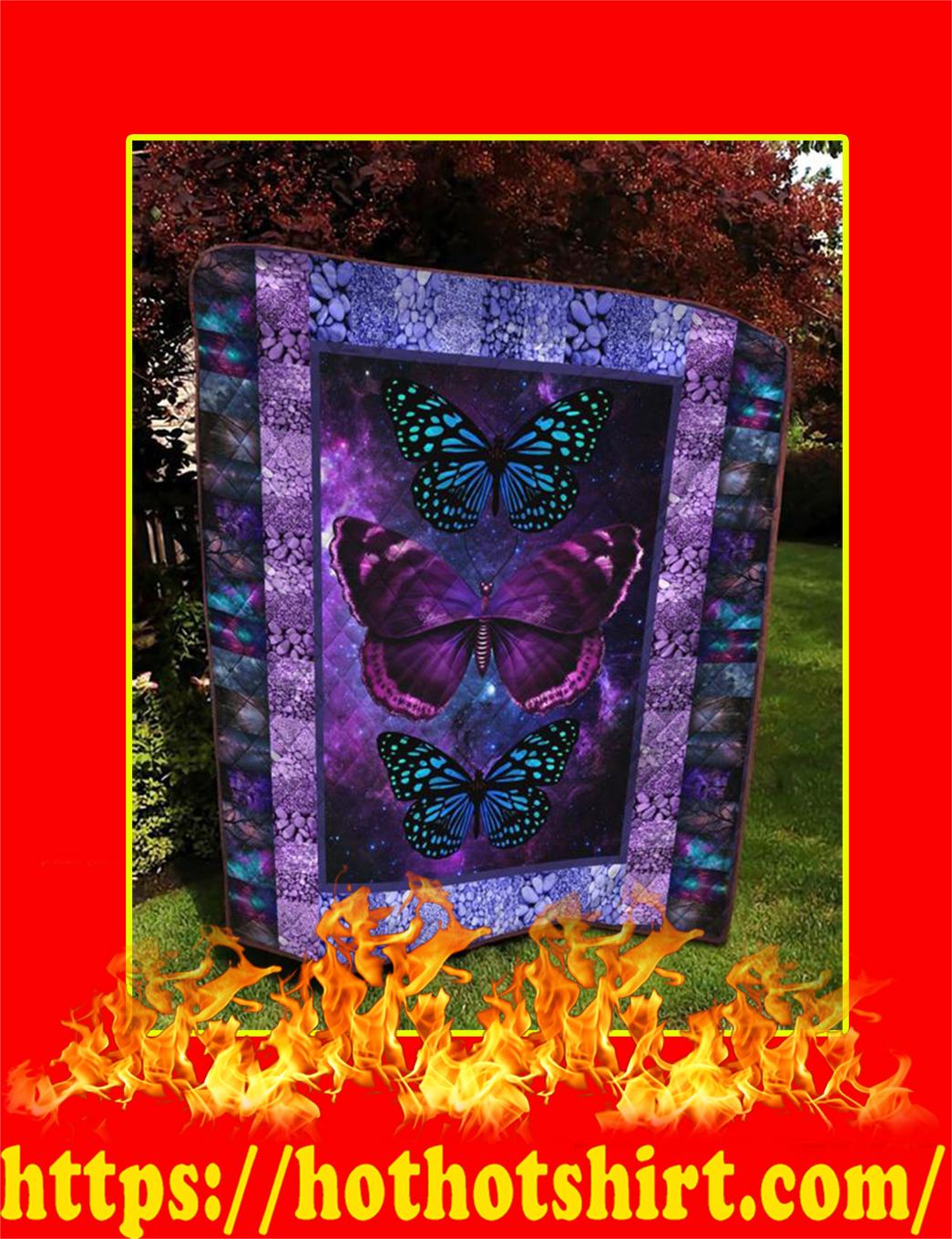 Butterfly Quilt - Queen