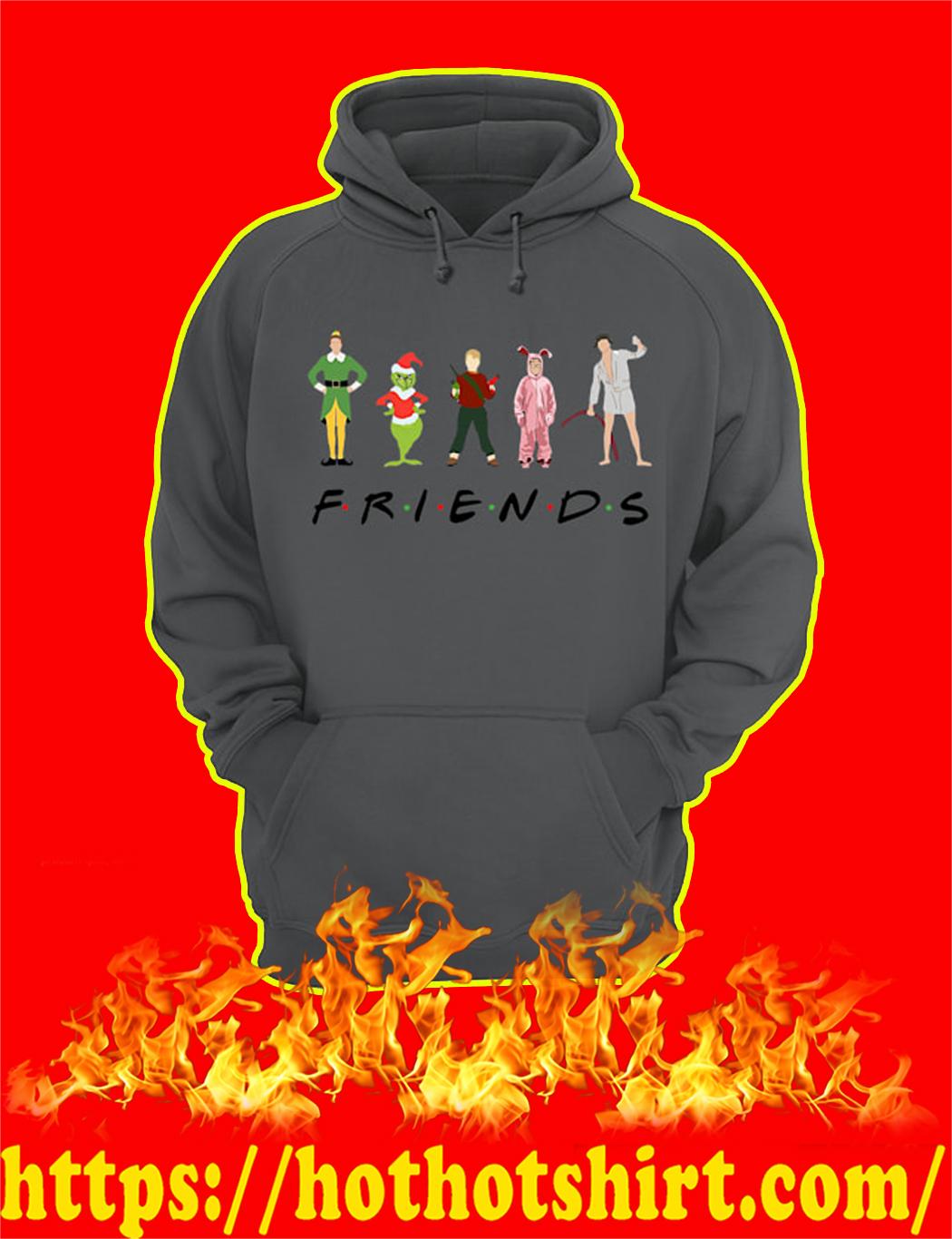 Christmas Characters Elf Grinch Kevin Friends hoodie