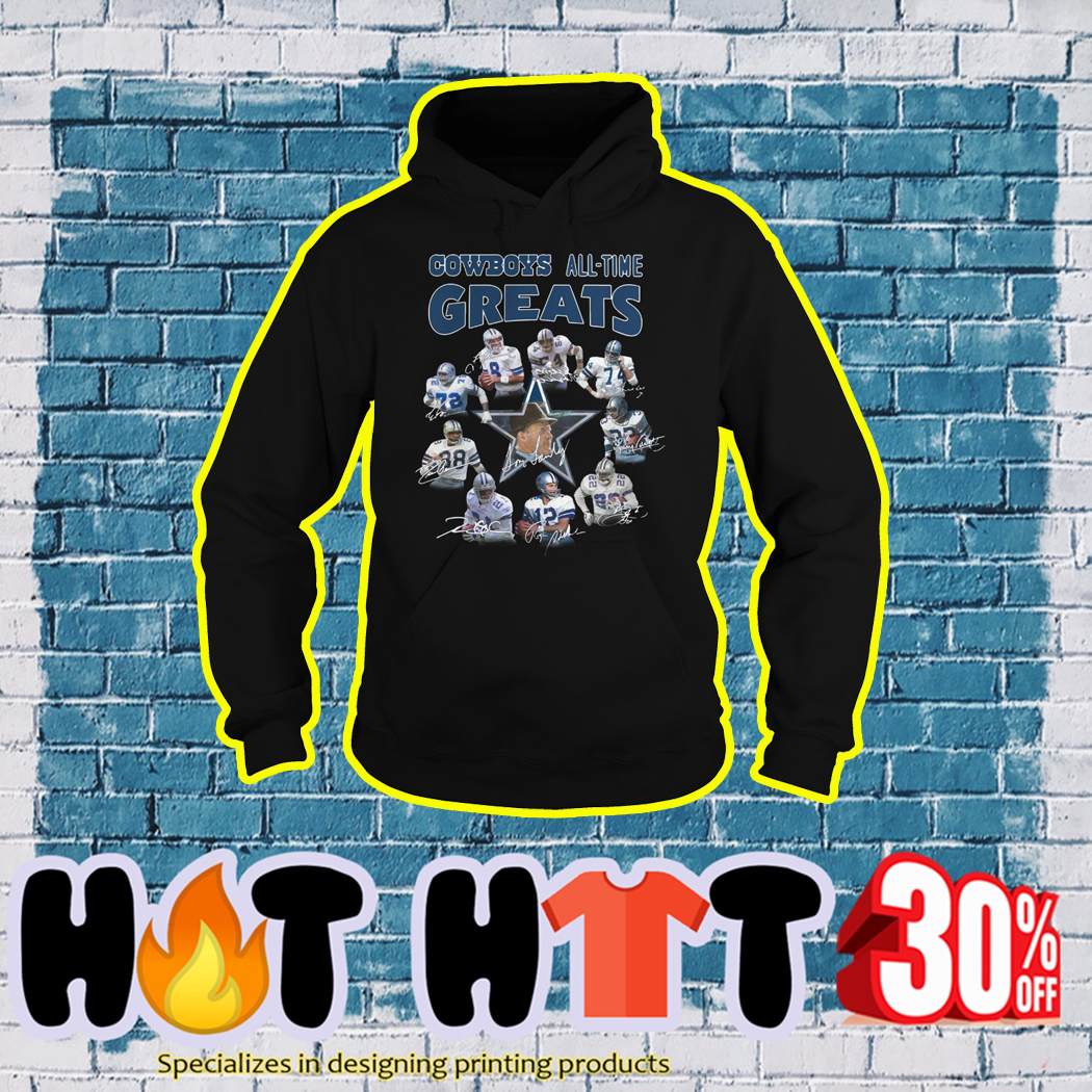 Cowboys All Time Great hoodie