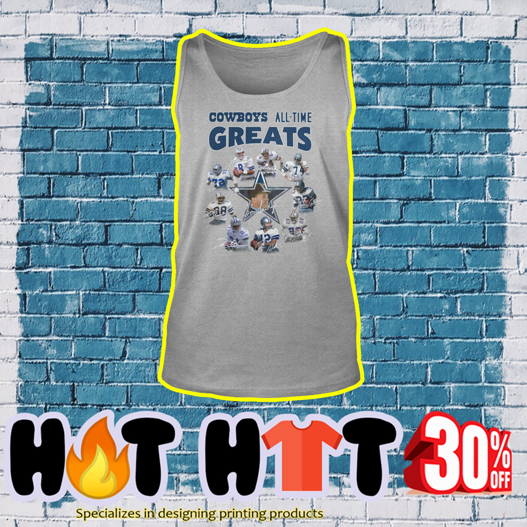 Cowboys All Time Great tank top