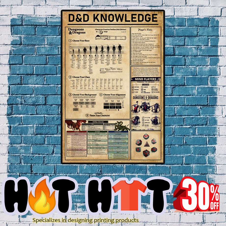 D&D Poster