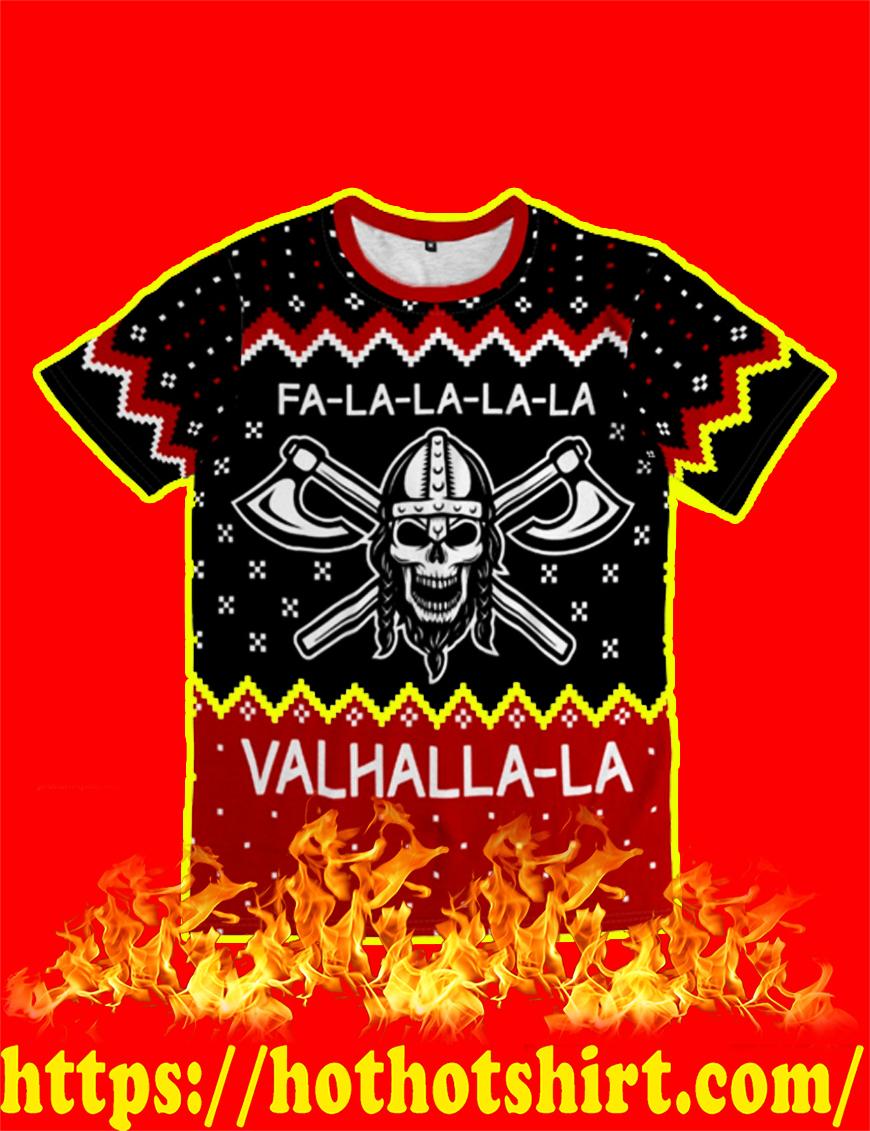 Fa-la-la-la-la Valhalla-la Christmas T-shirt