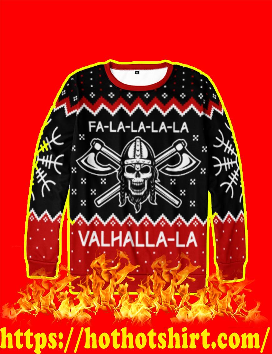 Fa-la-la-la-la Valhalla-la Ugly Christmas Sweater
