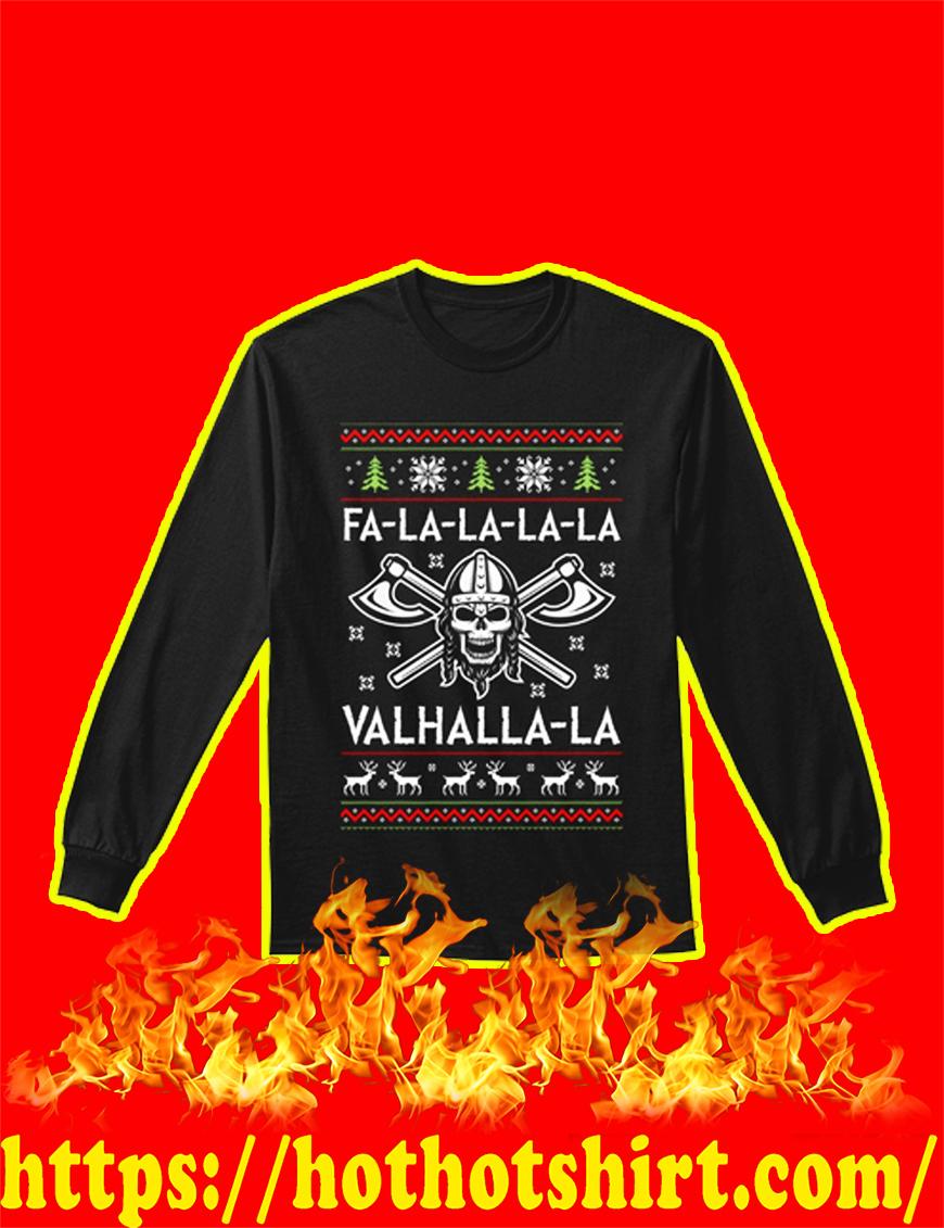 Fa-la-la-la-la Valhalla-la long sleeve tee
