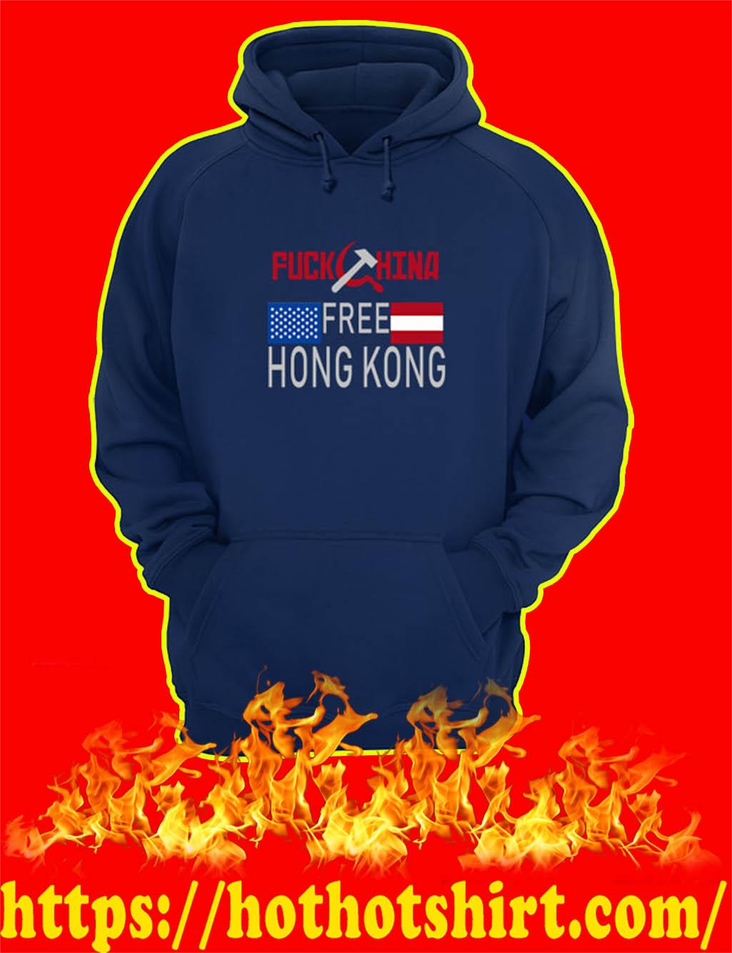 Fuck China Free Hong Kong hoodie