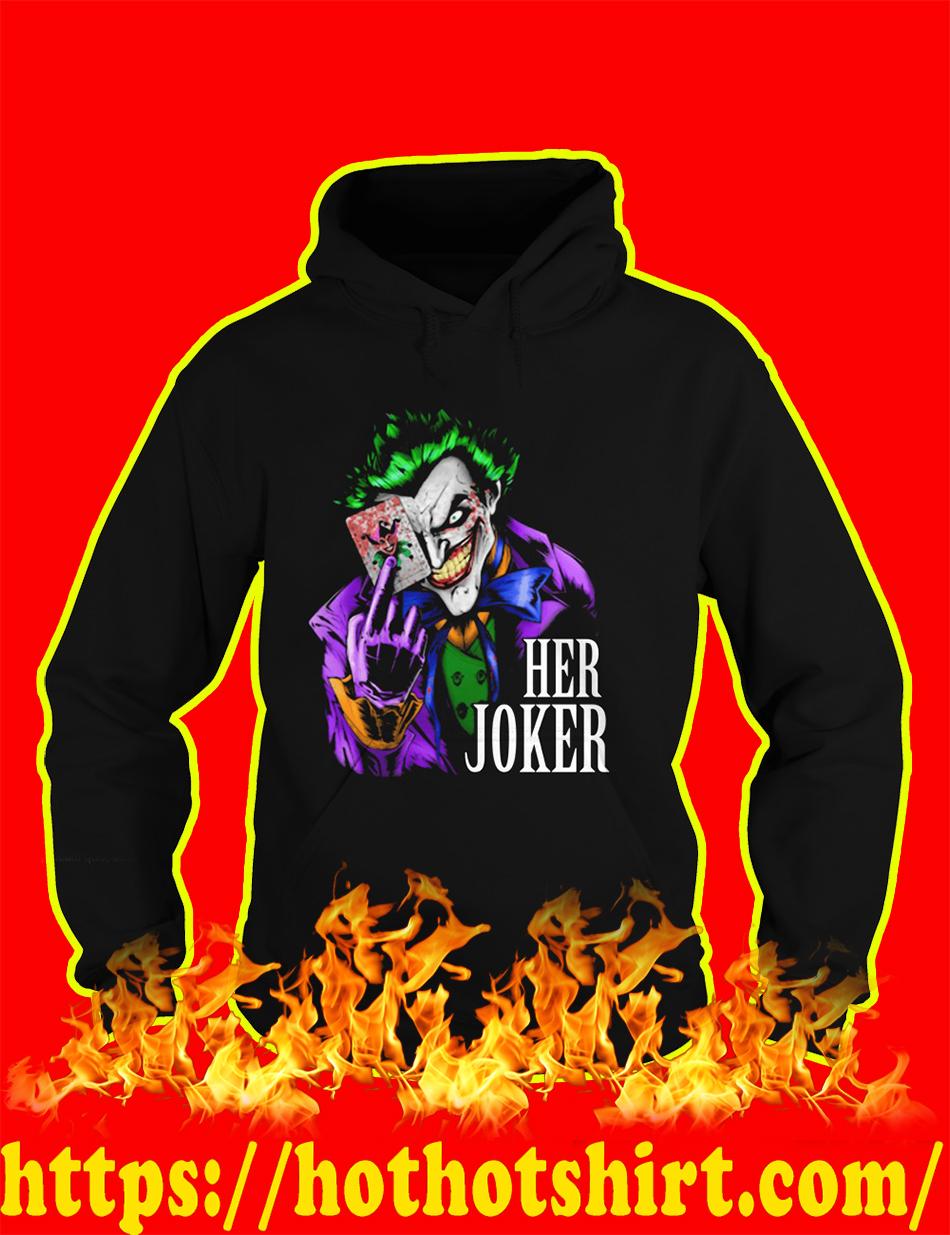 Her Joker hoodie