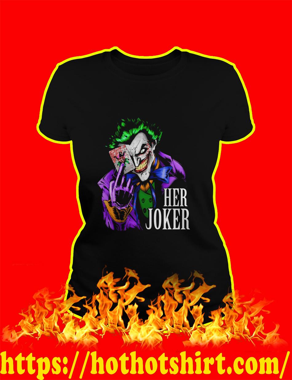 Her Joker lady shirt