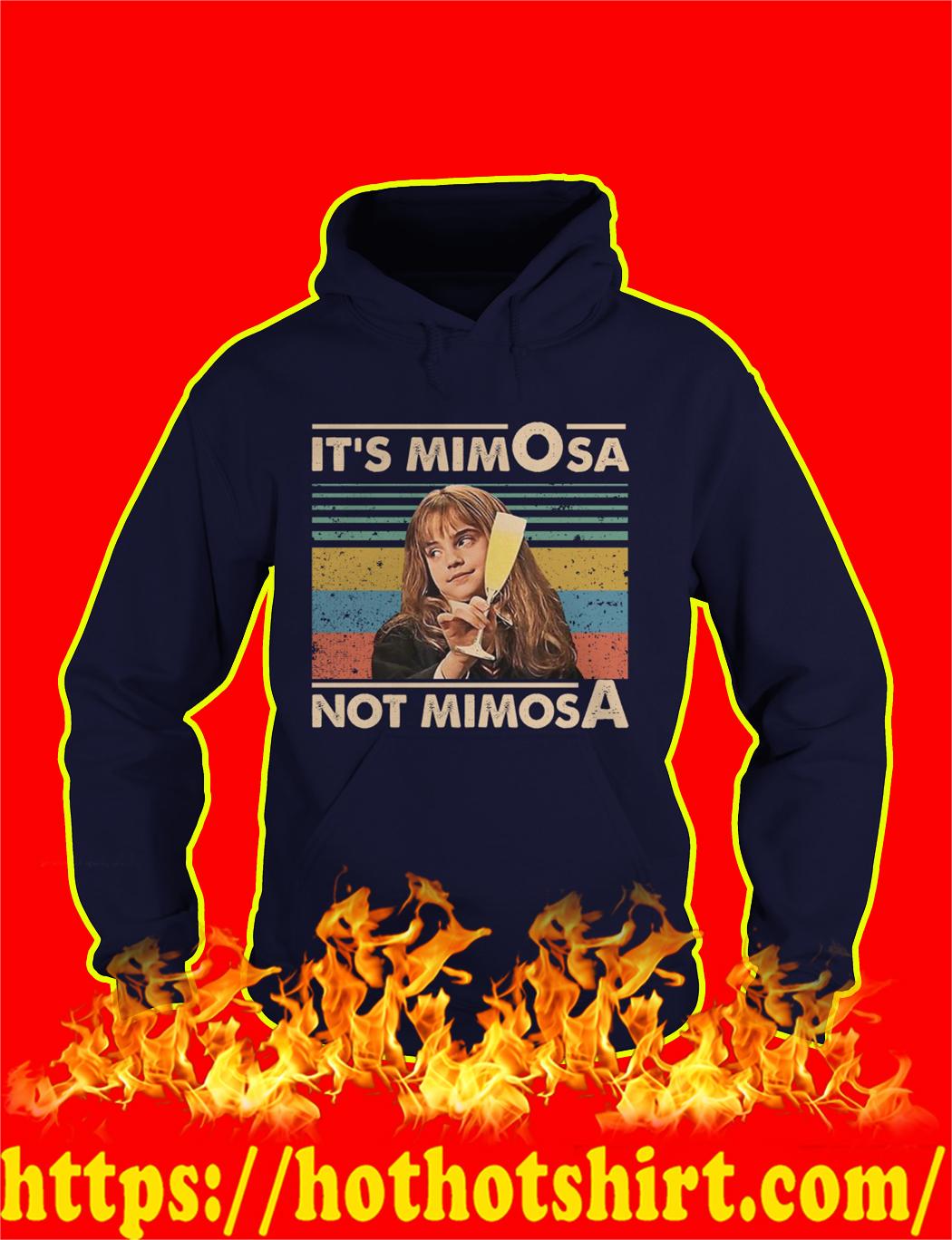Hermione It's mimOsa not mimosA Vintage Retro hoodie