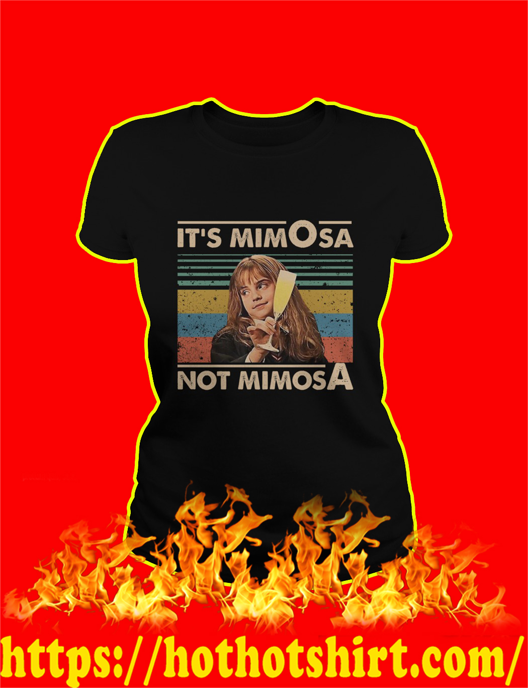 Hermione It's mimOsa not mimosA Vintage Retro shirt