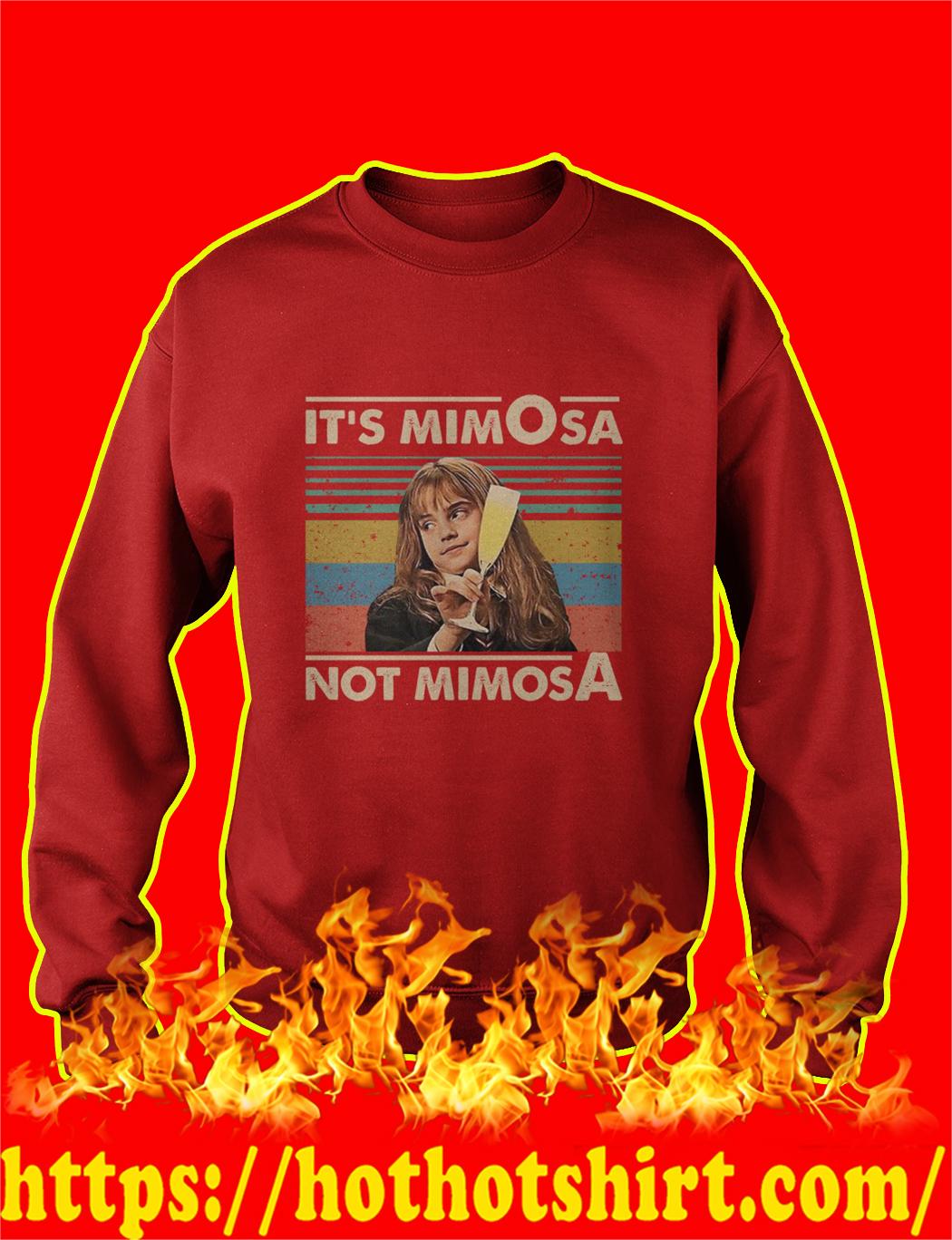 Hermione It's mimOsa not mimosA Vintage Retro sweatshirt