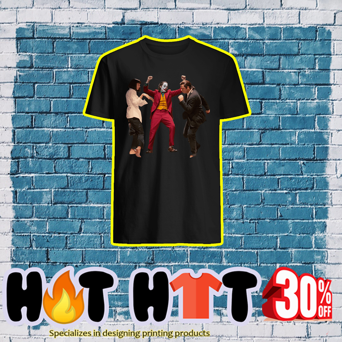 Joker Pulp Fiction Dance shirt