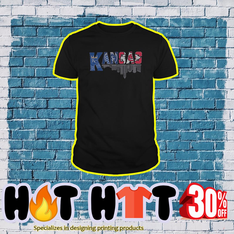 Kansas City Royals Sporting Kansas City Kansas City Chiefs Logo shirt