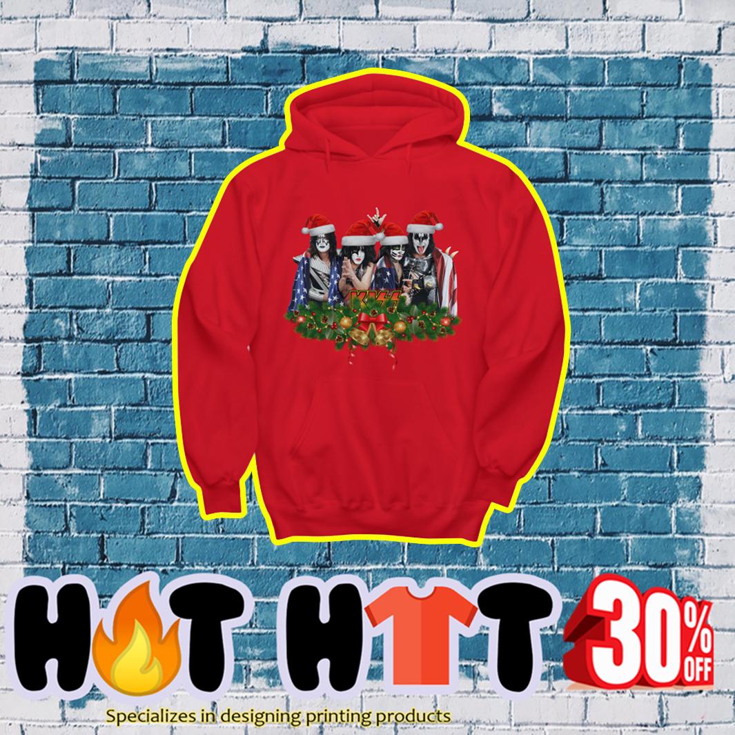 Kiss Band Christmas hoodie
