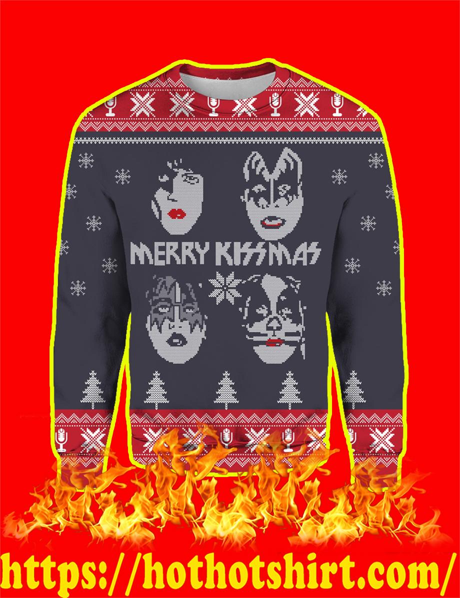 Kiss Band Merry Kissmas Ugly Christmas Sweater