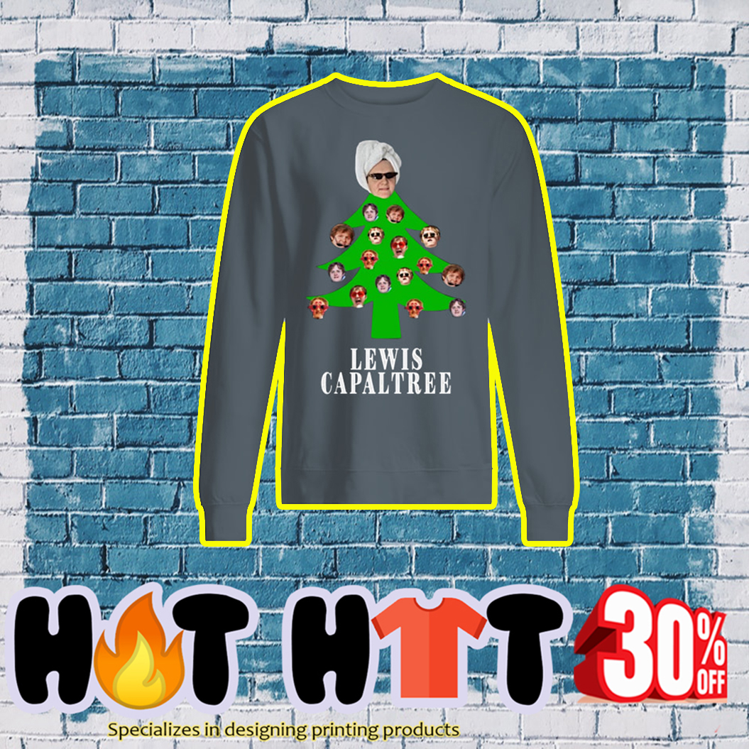 Lewis Capaltree Christmas Jumper- grey